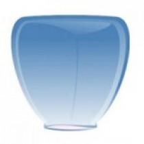 Синий фонарик в форме бриллианта (средний)