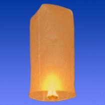 Оранжевый фонарик в форме цилиндра (средний)