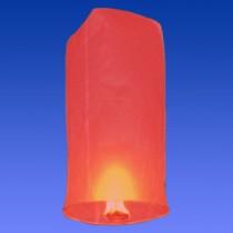 Красный фонарик в форме цилиндра (средний)