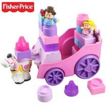 """Fisher Price - Игрушка-конструктор """"Карета с принцессой"""""""
