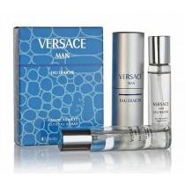 """Туалетная вода Versace """"Versace Man Eau Fraiche"""" 3x20ml"""