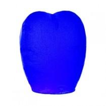 Синий фонарик в форме овала (большой)